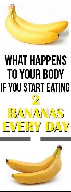 Bananas that are a very rich source of potassium and many other minerals can do THIS to your body if you start eating 2 bananas a day!