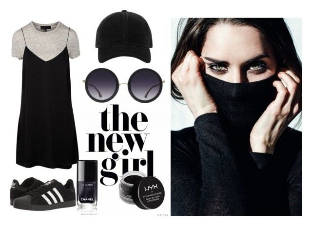 Simlicity by illetilmote on Polyvore featuring adidas, Alice + Olivia, rag & bone and NYX