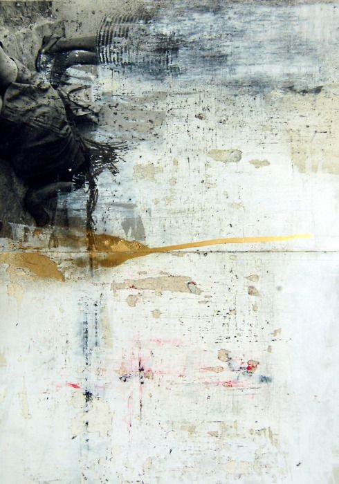 living with-out- the law ~ mixed media on paper ~ by lauratack