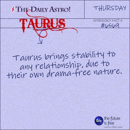 Taurus and stability