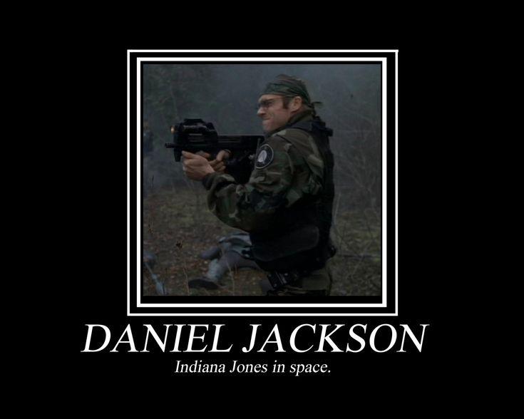 Daniel Jackson - Indiana Jones in space