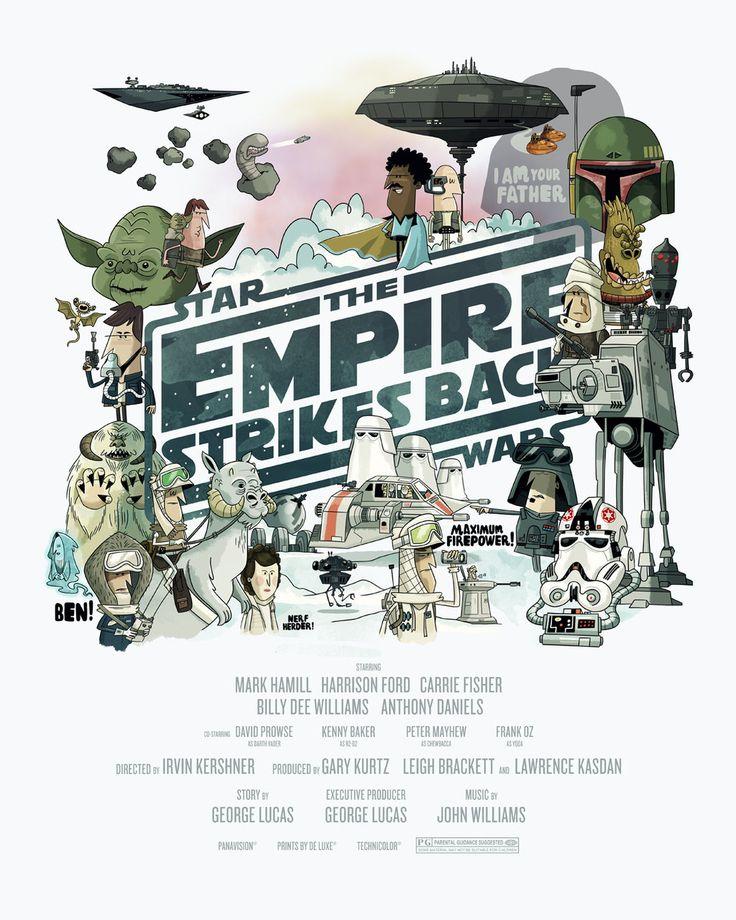 Star Wars Comic Poster Alternatives Empire Strikes Back