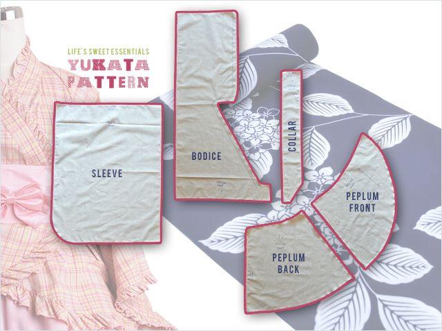 wa lolita yukata pattern ruboff method