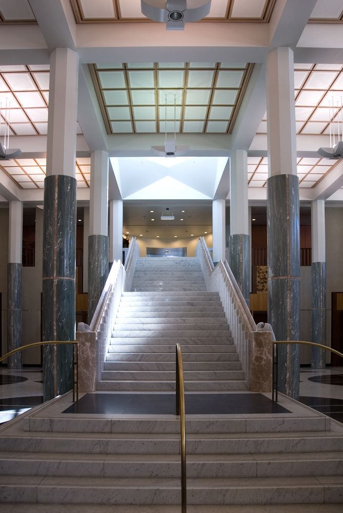 Parliament House Canberra | The Foyer Grand Staircase