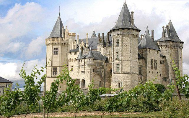 Château de Saumur, France, Maine et Loire, Pays de loire à 45 minutes du Château de #Chambiers !