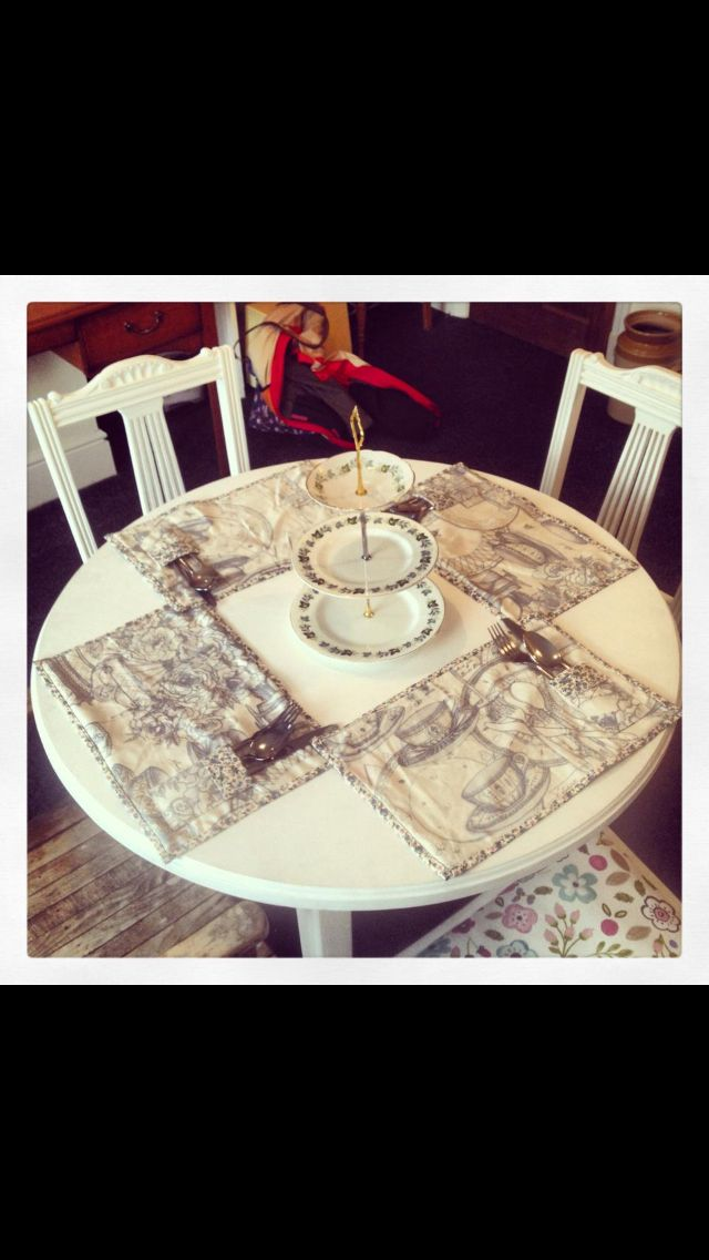 Beautiful place mats available in a range of colours, £20...