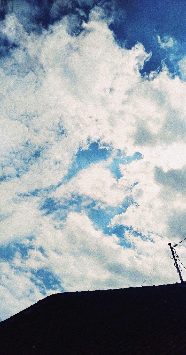 Snapgram awan   Awan, Langit biru, Gambar awan