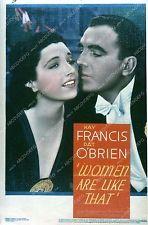 Pic Kay Francis Pat O'Brien film Women Are Like That 35m-4248