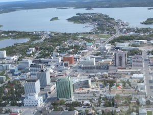 Downtown Yellowknife, NWT