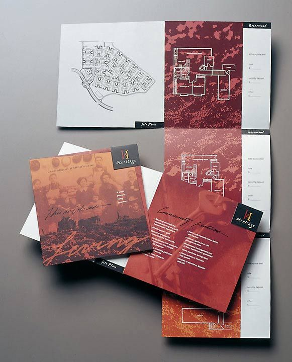 Best Brochures Images On   Brochures Brochure Design