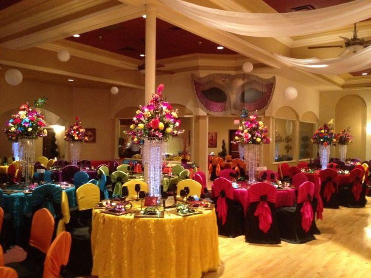 Decoraciones para quinceaneras en salon organizacion de - Ideas decoracion salon ...