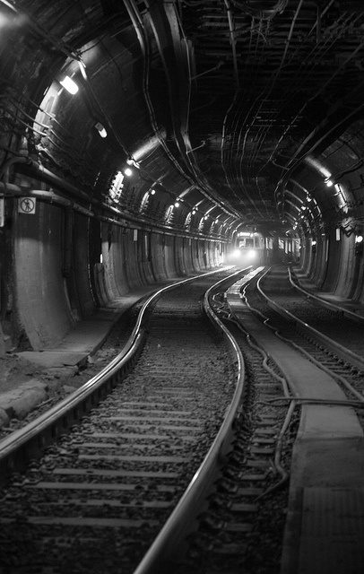 Boston Subway by Photography by Timothy Boyle, via Flickr