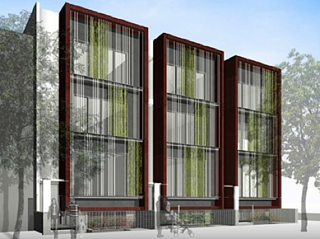 Modern town homes google search s u g a r m o n t for Townhouse architectural styles