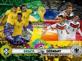 Almanya'yı, Brezilya'ya acıdığı için tebrik ediyoruz