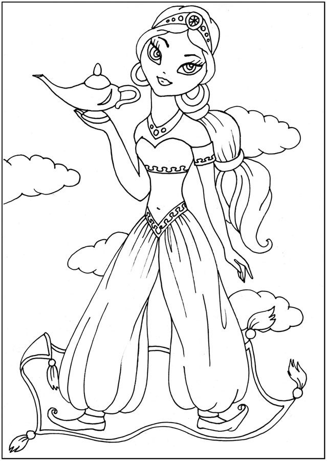раскраски для мальчиков и девочек, Сказочные герои ...