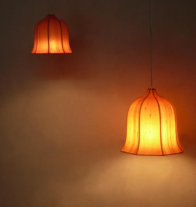 Silk Dome 16 & 26cm Lamp Shade