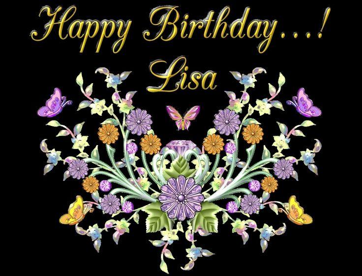 Happy Birthday Lisa Images Inspirational Happy Birthday