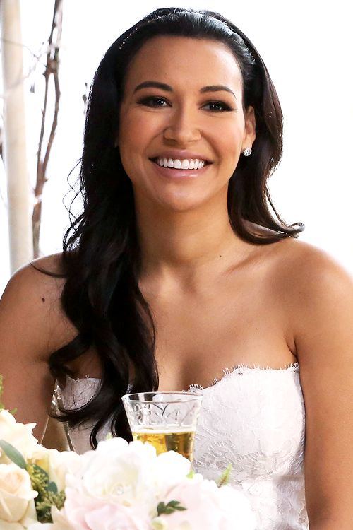 Santana Lopez at her wedding