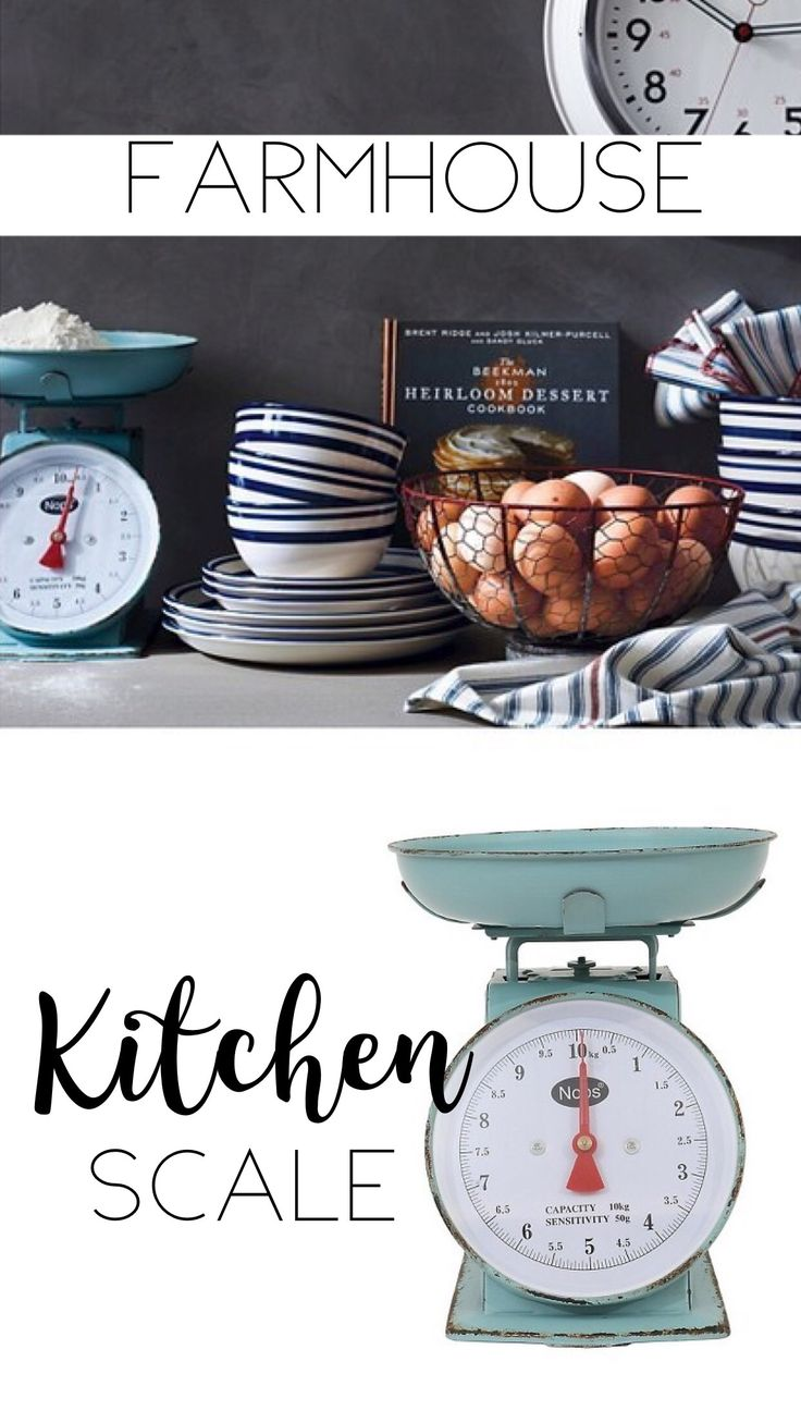 I need this aqua farmhouse kitchen scale! Perfect for my rustic farmhouse kitchen! Keep with the fixer upper style which I am in love with! Love the vintage, rustic, antique vibe it has as well. Would be great on a kitchen table or on the counter! Farmhouse decor, rustic decor, aqua decor, kitchen, rustic kitchen, fixer upper, (Affiliate)