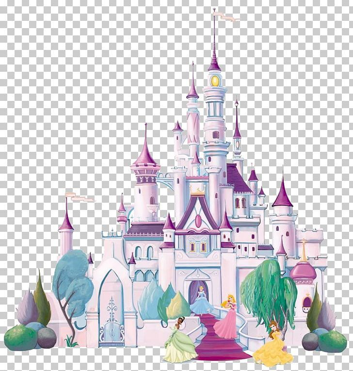 Disney Princess Castle Mural Png Disney Mural Castle Mural Disney Princess Castle