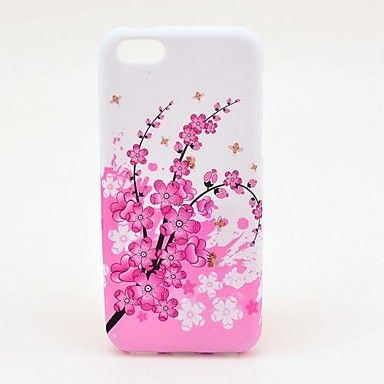 Chimonanthus Fragrans Pattern TPU Soft Veske til iPhone 5C – NOK kr. 31