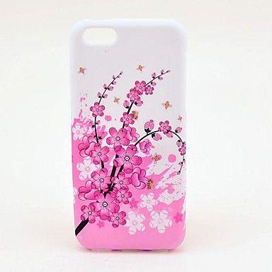 Chimonanthus Fragrans Pattern TPU Soft Veske til iPhone 5C – NOK kr. 31