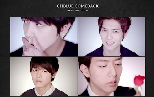 Korean group singers, CNBLUE released teaser of their new album on January 7th.