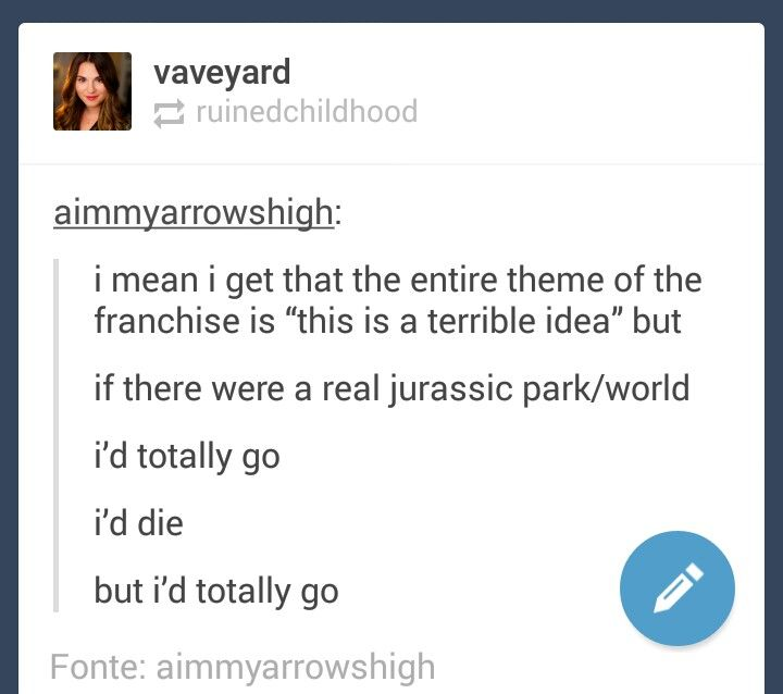 Finally!! Someone gets it!! I'd die, but I'd be the first in line when the park opened!!