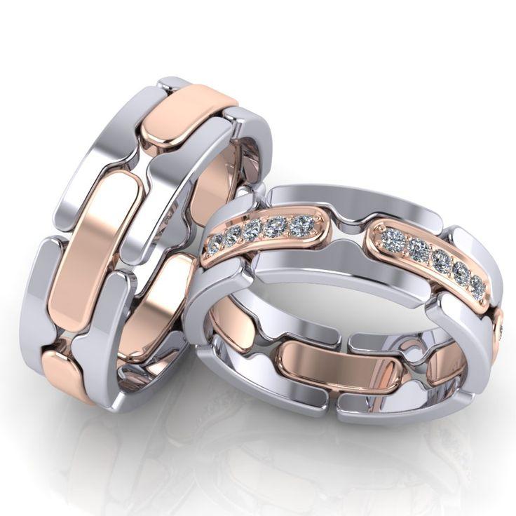 Обручальные кольца ERS8