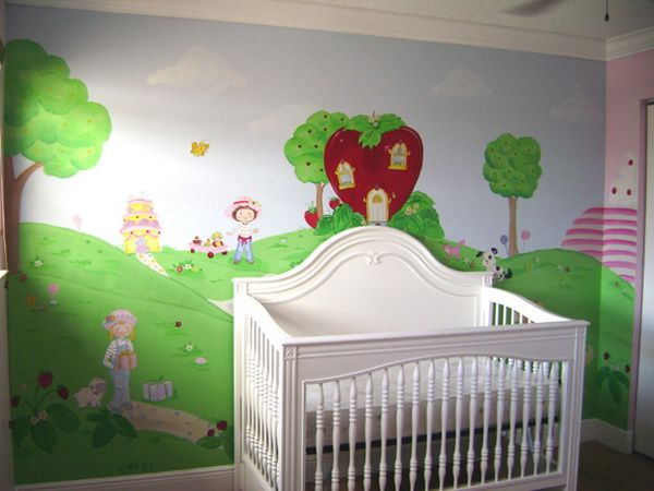 Painting Trees On Walls Kids Room