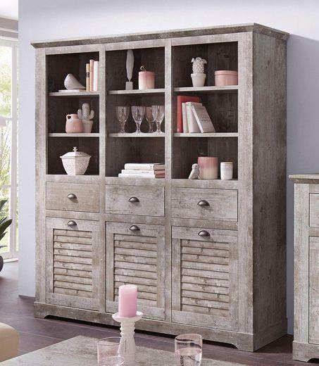 Wow! Vintage Schrank Für Die Küche Oder Das Wohnzimmer. Lässt Gläser U0026 Deko  Toll