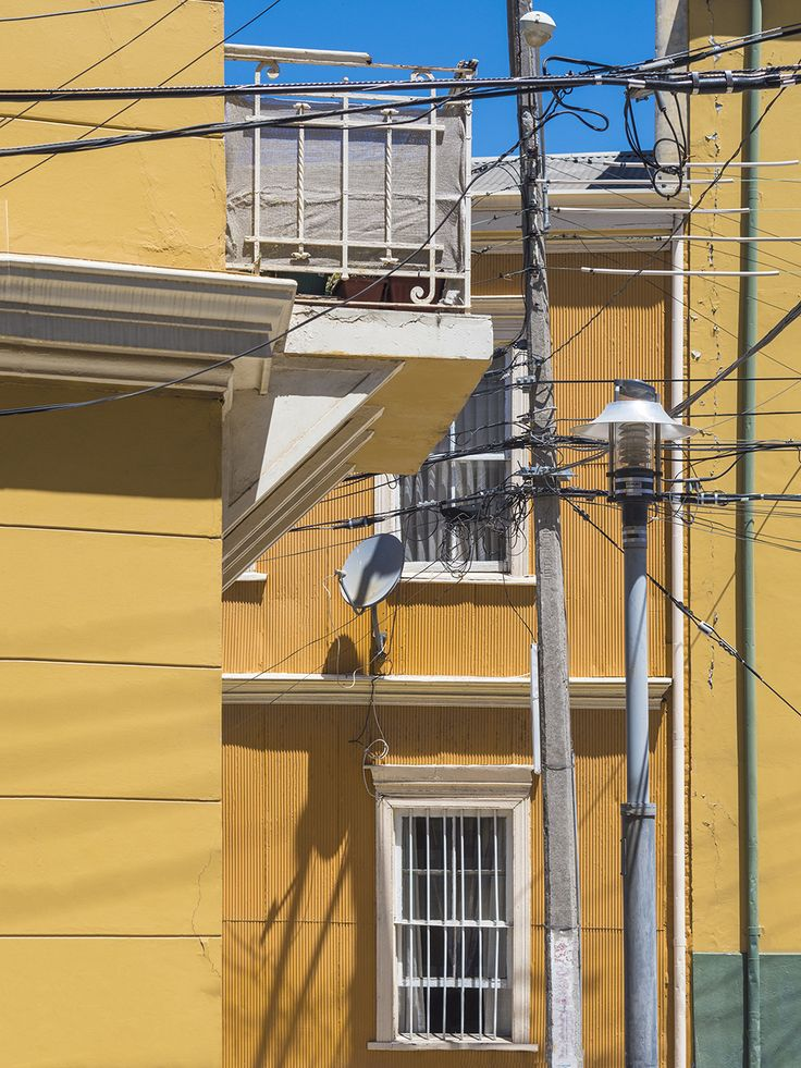 Colourful Buildings of Valpariso.