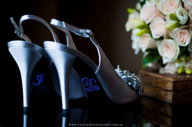 I-do wedding shoes stickers ~Sydney wedding photography by Yulia Photography~ www.yuliaphotography.com.au