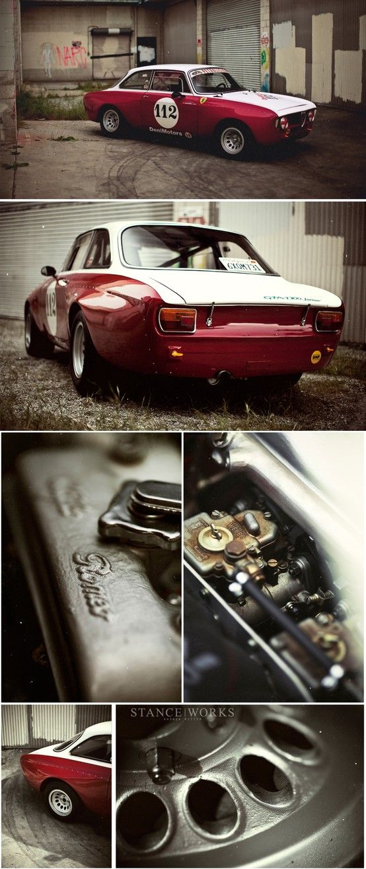 1968 Alfa Romeo GTA - Stanceworks - Andrew Ritter