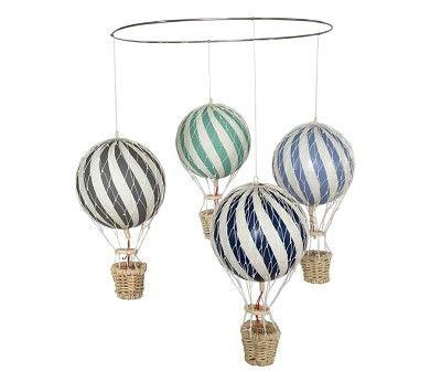 Uro med blå og grønne luftballonger - Filibabba