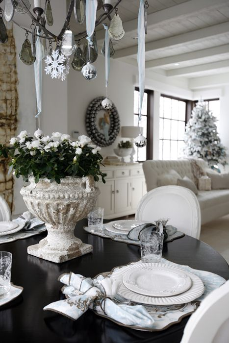 Turn Your Home Into A Winter White Wonderland. Photo