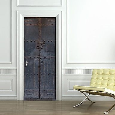 best 25 door stickers ideas on pinterest door murals custom vinyl and cool walls. Black Bedroom Furniture Sets. Home Design Ideas