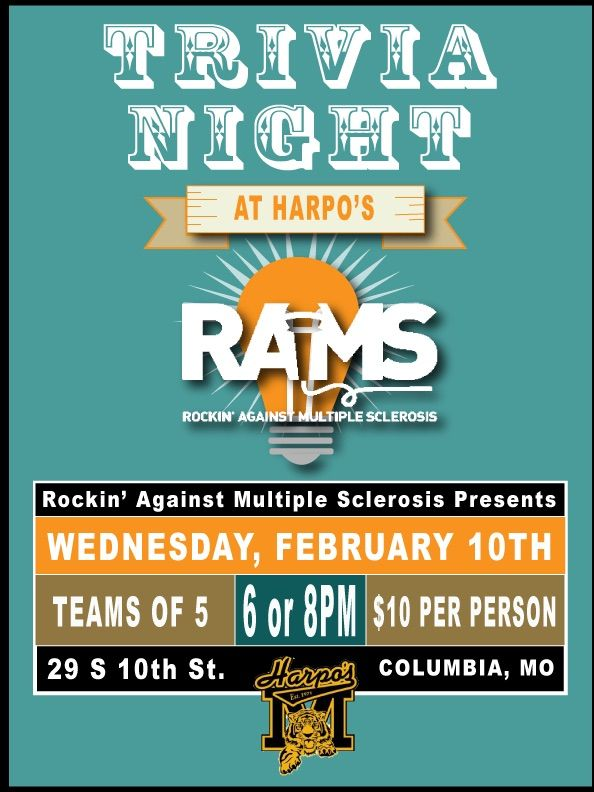 Join us at Harpo's this Wednesday to support RAMS!