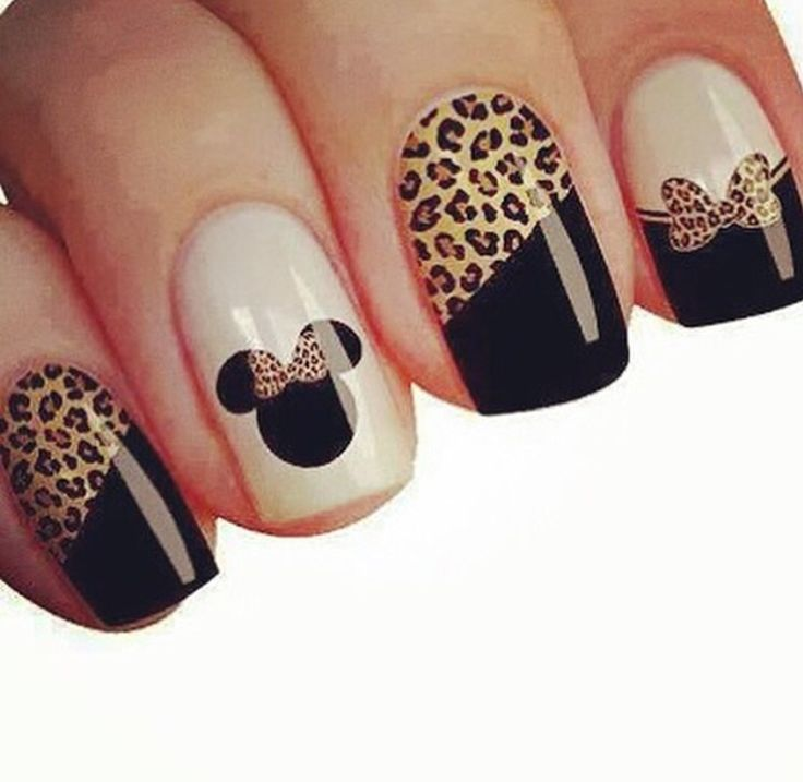 Minie Mouse Nails