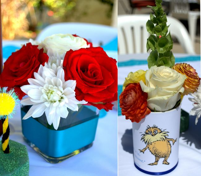 Dr Seuss Baby Shower Cat In The Hat The Lorax Baby Shower The
