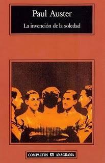 La invención de la soledad, de Paul Auster