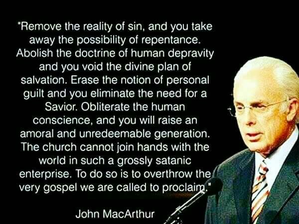 christian quotes   John MacArthur quotes   conviction   repentance   sin   salvation