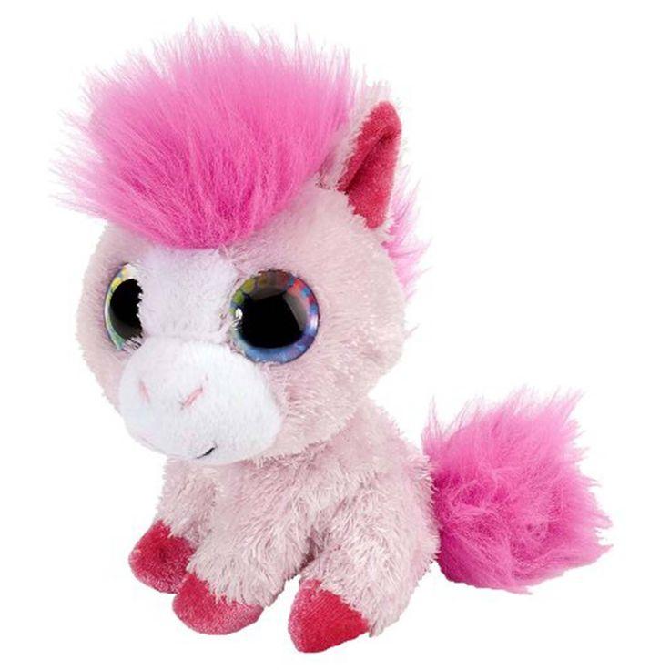 Li'l Sweet And Sassy Pony Pink Lemonade 5 Inch Animal Plush Figure