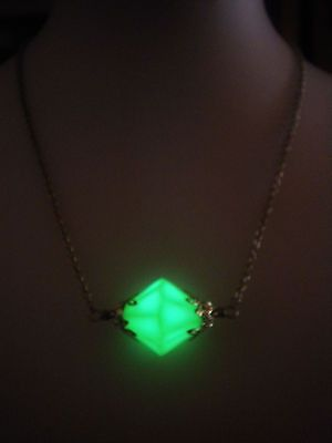 Lana Lang Kryptonite Necklace - Glow in the Dark Kryptonite - Superman Jewelry