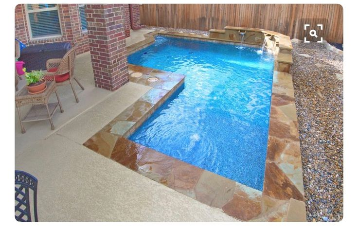 414 Best Small Inground Pool Amp Spa Ideas Images On