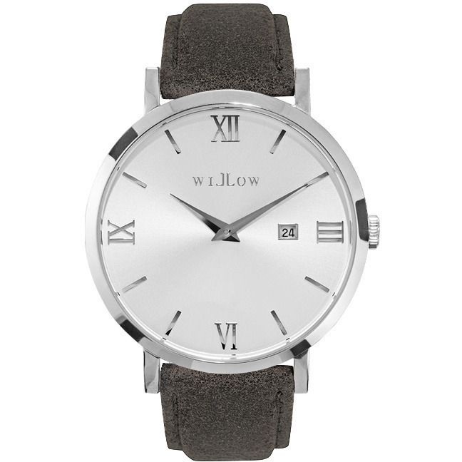 Willow Venezia Watch in Silver with Grey Strap | Buy Women's Watches