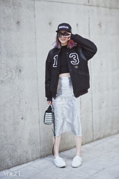 Street style: Irene Kim at Seoul Fashion Week Fall 2015
