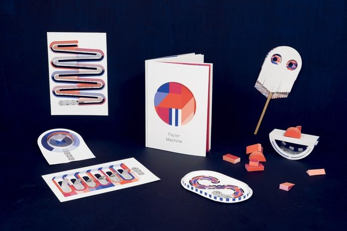 #PapierMachine Vol.0 : the interactive electronic paper toy by Papier Machine — Kickstarter