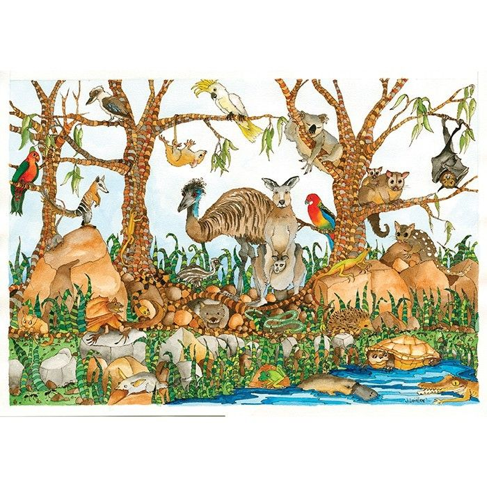 My four year old can do all of his 100piece puzzles independently, so it's time to lay down a challenge! He is an animal lover, and the illustrations on this puzzle are beautiful.  #EntropyWishList #PinToWin