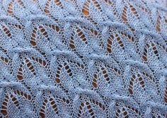 Knitting pattern fishes